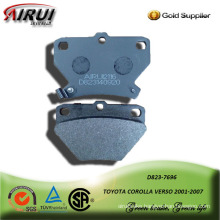 SEMI-METALLIC  CAR BRAKE PAD FOR TOYOTA COROLLA VERSO 2001-2007